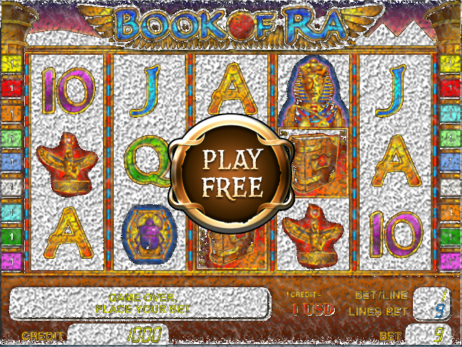 play online casino slots book of ra free game